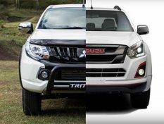 Isuzu D-Max 2018 กับ Mitsubishi Triton 2018 เลือกคันไหนดีกว่ากัน ??