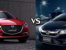 Honda City 2018 และ Mazda 3 2018 คันไหนคุ้มกว่ากัน?
