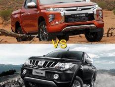 เปรียบเทียบ Mitsubishi Triton 2019 กับรุ่นเก่า เปลี่ยนไปแค่ไหนนะ?