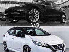 เปรียบเทียบ Tesla Model 3 vs Nissan Leaf รถยนต์พลังงานไฟฟ้ารุ่นไหนดี?