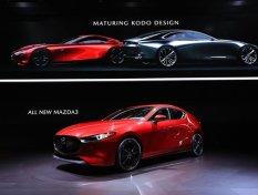 ส่องภาพ Mazda3 2019 ใหม่ ที่เผยโฉมครั้งแรกในงาน Los Angeles Auto Show 2018
