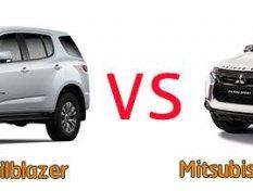 เทียบ Chevrolet Trailblazer vs Mitsubishi Pajero Sport