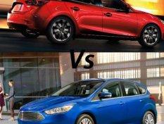 เปรียบเทียบ Ford Focus 2018 และ Mazda3 2018