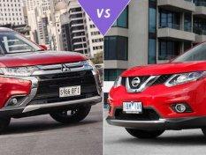 จากคู่แข่ง สู่พันธมิตร ! Nissan X-Trail Vs Mitsubishi Outlander