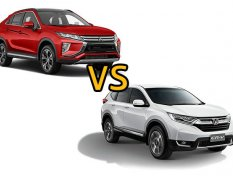 เปรียบเทียบ Mitsubishi Eclipse Cross vs Honda CR-V