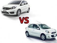 เทียบ Honda Brio และ Nissan March เลือกคันไหนดี?