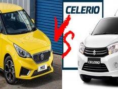 เปรียบเทียบ MG3 กับ Suzuki Celerio รถสุดแนวของวัยรุ่น