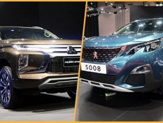 Peugeot 5008 เทียบ Mitsubishi Pajero Sport 2019 ดูสเปครถ 7 ที่นั่งใหม่ล่าสุด แบบไหนจะโดนใจคุณมากกว่ากัน