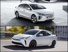 ปะทะแรง !! กับยนตรกรรมทางเลือก ระหว่าง Hyundai IONIQ Electric 2019 VS Toyota Prius Hybrid 2019 ใครกันแน่จะโดดเด่น