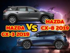 ศึกชิงมงกุฎของค่ายมาสด้า ระหว่าง Mazda CX-8 กับ Mazda CX-3 ใครกันแน่จะเจ๋งจริง ?