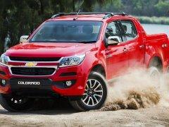 Chevrolet Colorado 2017 มาพร้อมไมเนอร์เชนจ์ใหม่ ใช้งานดียิ่งขึ้น