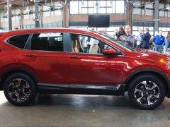 Honda CR-V 2017 เปลี่ยนใหม่หมดทุกสิ่ง ตั้งใจให้เป็นรถ SUV ที่ดีที่สุดในคลาส