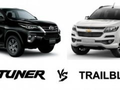 Chevrolet Trailblazer 2018 vs Toyota Fortuner 2018 เลือกซื้อรุ่นไหนดี ??