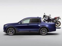 BMW เผยรูป X7 เวอร์ชั่นกระบะที่น่าทึ่ง