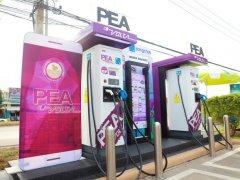 MG หนุน PEA และ บางจาก เปิดตัวสถานีชาร์จ PEA VOLTA จะมี 100 กม.