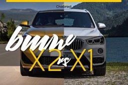 เปรียบเทียบ BMW X2 กับ BMW X1 เหมือนกันต่างที่อารมณ์
