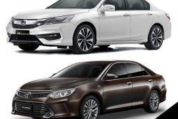 Honda Accord 2018 กับ Toyota Camry 2018 ซื้อคันไหนดี ?