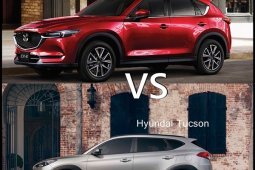 Mazda CX-5 2018 vs  Hyundai Tucson 2018 ซื้อคันไหนดี?