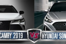 All New Toyota Camry 2019 VS Hyundai Sonata 2019 เลือกคันไหนดีกว่ากัน ??