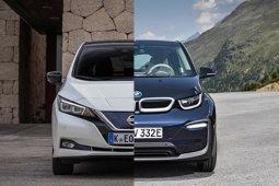 เปรียบเทียบ 2 คู่แข่งเบอร์แรงของตลาดรถไฟฟ้า BMW i3 2018 กับ Nissan Leaf 2018
