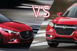 ลองเทียบกันดู ! ระหว่าง Mazda 3 และ Honda HR-V มือสอง รุ่นไหนดีกว่ากัน ?