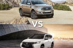 ท้าชน! Ford Everest 2019 VS Mitsubishi Pajero Sport 2019  คันไหนดี?