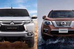 Nissan Terra ปะทะ Mitsubishi Pajero Sport รุ่นไหนเด่นกว่ากัน?? ต้องดู !!!