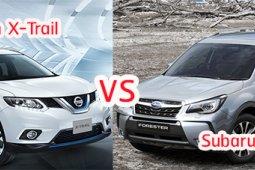 เปรียบเทียบ Nissan X-Trail และ Subaru Forester