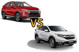 เปรียบเทียบ Mitsubishi Eclipse Cross vs Honda CR-V