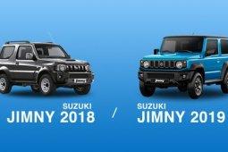 เปรียบเทียบ Suzuki Jimny 2018 และ Suzuki Jimny 2019