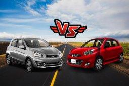 Mitsubishi Mirage VS Nissan March เลือกคันไหนคุ้มค่ากว่ากันคุณเป็นคนตัดสินใจ !!