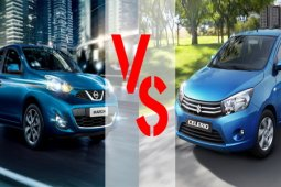 เปรียบเทียบรถรุ่นเล็ก Nissan March กับ Suzuki Celerio