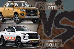 Ford Ranger Wildtrak VS Mitsubishi Triton Absolute เลือกซื้อคันไหนดี?!