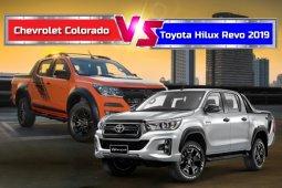 เทียบตัวท็อป Chevrolet Colorado vs Toyota Hilux Revo 2019 คันไหน? คือคำตอบที่ใช่! โดนใจคุณ