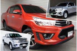 Toyota Hilux Revo ราคาในตลาดรถมือสอง เหลือเท่าไหร่ สำรวจล่าสุด สิงหาคม 2562