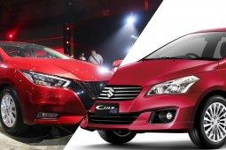 Nissan Almera 2020 vs Suzuki Ciaz อีโค่ซีดานชื่อดัง จับมาดวลสเปคกัน เห็นคำตอบชัดเจนว่าควรจะเลือกใครดี