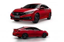 Honda Civic Turbo RS 2020 ซีดานสีใหม่ Ignite Red ร้อนแรงราคาเดิม 1,219,000 บาท