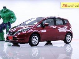 1N-146  Nissan Note 1.2 V สีแดง เกียร์AT ปี2017