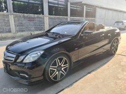 🔥จองให้ทัน🔥 Benz E250 cgi sport cabriolet ปี 2012 รถศูนย์ ไมล์แท้ สวยจัด