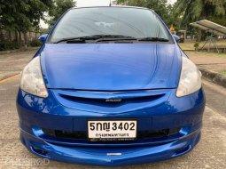จองด่วน HONDA JAZZ 1.5 IDSI สีนำ้เงิน ปี 2004 AUTO รถสวยสภาพดีพร้อมใช้