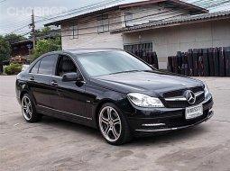 Benz C250 1.8 CGI W204 ปี10จด11 รถสวยขับดีตัวรถไม่มีอุบัติเหตุมีเล่มพร้อมโอน