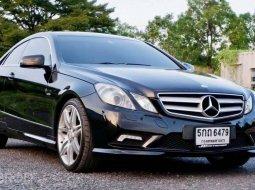 จองให้ทัน Benz E250 Coupe AMG Package ปี 2011 สภาพสวยพร้อมใช้