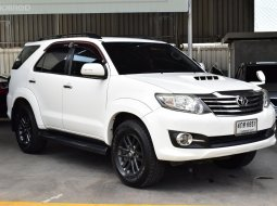 ขายรถมือสอง 2015 Toyota Fortuner 2.5 (ปี 12-15) V SUV AT
