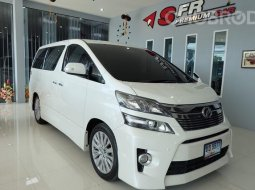 TOYOTA VELLFIRE [ 2.4 ] Z G TOP AT ปี 2012