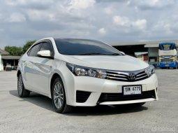 2014 Toyota COROLLA 1.8 SEG รถเก๋ง 4 ประตู