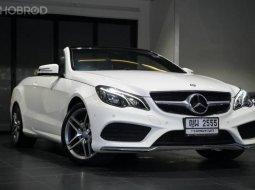 2015 Mercedes-Benz E200 Cabriolet รถศูนย์ ไมล์น้อย 31,xxx km.