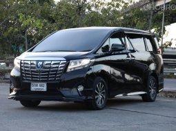 จองให้ไว Toyota ALPHARD 2.5 HYBRID E-FOUR 4WD เกียร์ออโต้ สีดำ ปี2016 ออฟชั่นแน่นๆ