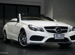 2015 Mercedes-Benz E200 Sport รถเปิดประทุน