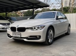 จองให้ทัน BMW 320d F30 รุ่น sport สีขาว ปี 2014 รถสวย สภาพเดิมๆ