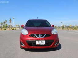 2017 Nissan MARCH 1.2 E รถเก๋ง 5 ประตู